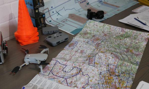 Planung von Drohnenflügen UAV UAS